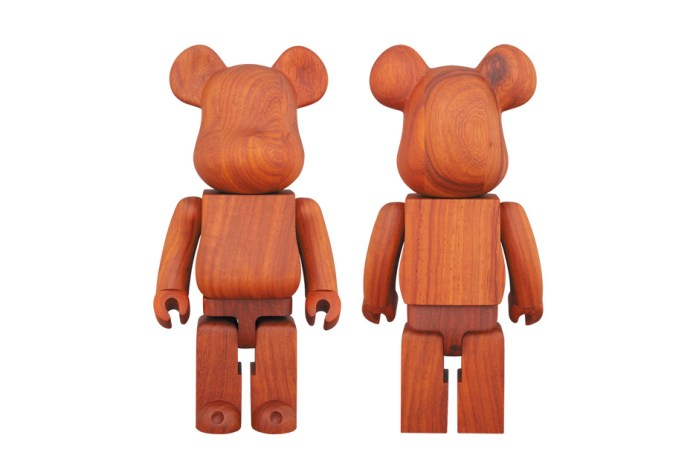 Medicom Toy Constructs Its Latest Bearbrick From a Stunning Padauk Wood