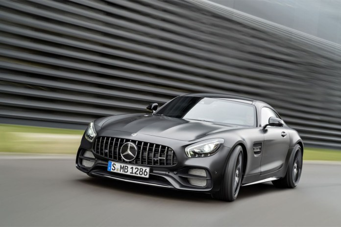 Mercedes-AMG Introduces the GT C Edition 50