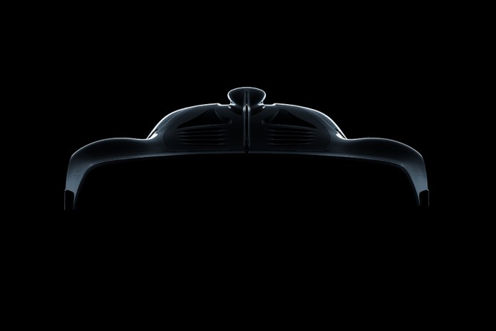 Mercedes Teases Its 1,000 Horsepower Project One Hypercar