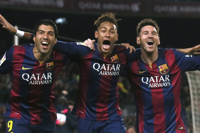 Watch Messi, Neymar Jr. & Suarez Slam Challenges on a Japanese Game Show