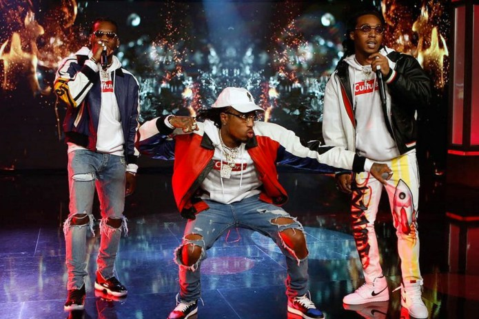 "Watch Migos Perform ""Bad and Boujee"" on 'Jimmy Kimmel Live'"