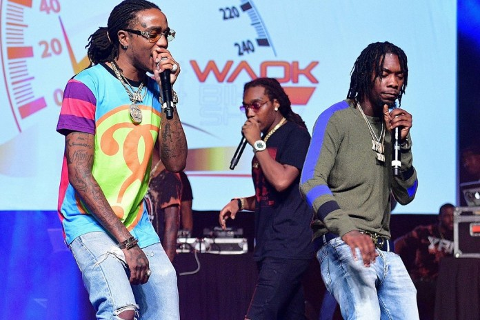 "Chance the Rapper, Lil Yachty, YG & More Join Migos for ""Bad and Boujee"" Performance"