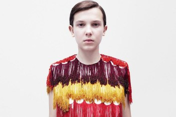 Picture of 'Stranger Things' Star Millie Bobby Brown Is One of the New Faces for Calvin Klein