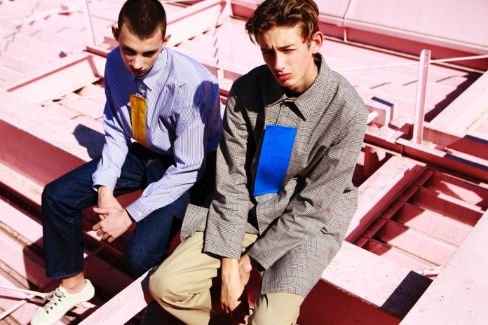 MISTERGENTLEMAN 2017 Spring/Summer Collection Gives Classic Pieces a Touch of Incongruity