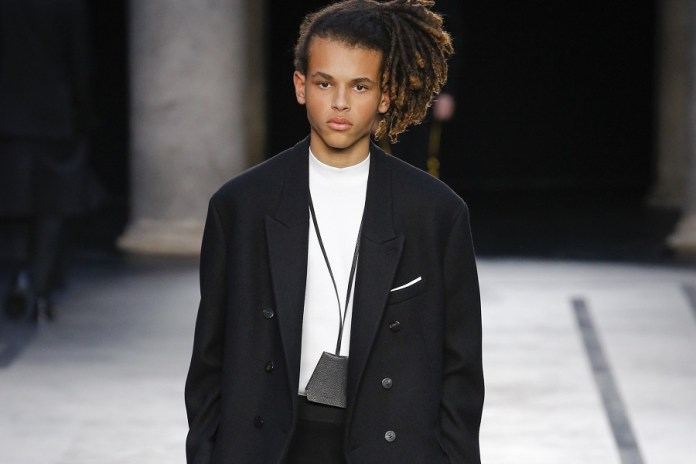 Neil Barrett's Fall 2017 Collection is a Tailored Take on Rebellious '80s Subculture