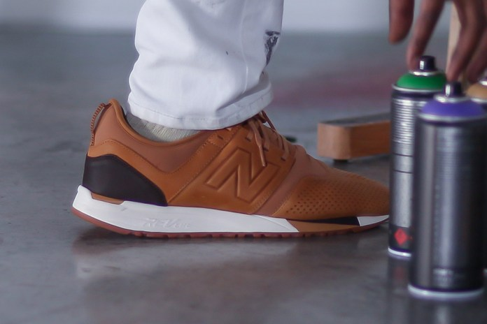 Artist Bradley Theodore Gives Us an On-Feet Look at the New Balance 247 LUXE
