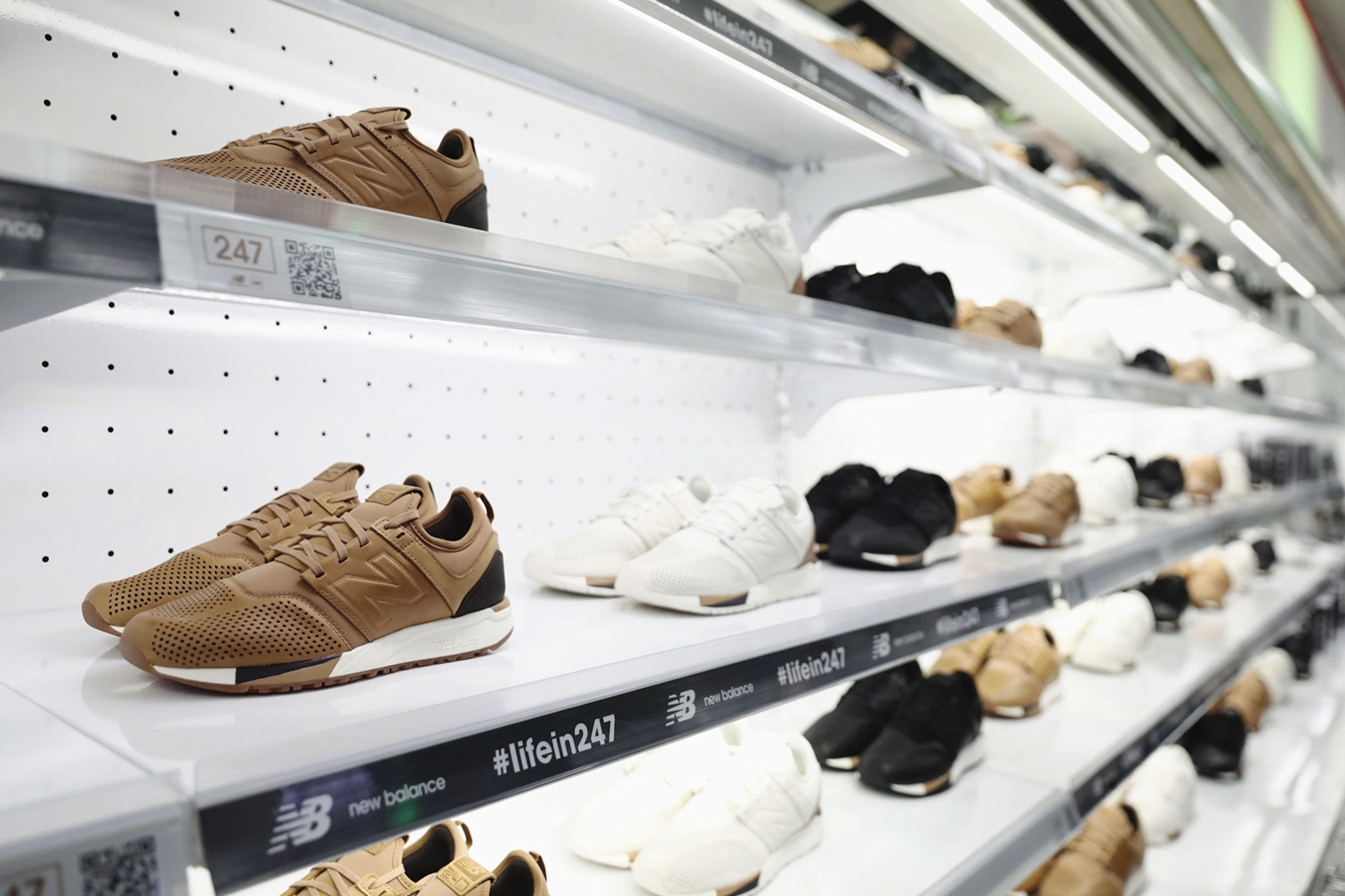 new balance 247 luxe sneakers
