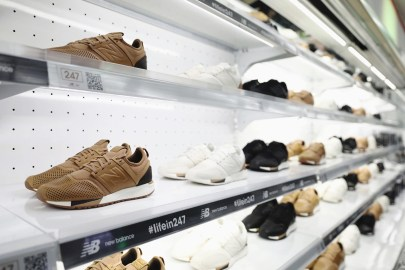 New Balance Hosts a Pop-Up Shop for Its Latest 247 Luxe Iterations in Shanghai