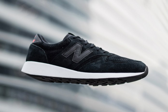 The New Balance 420 Gets the Monochrome Treatment