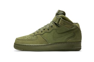Nike's Air Force 1 Mid Continues Its Love for Olive Coloring