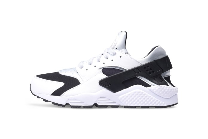 Nike Drops a Clean Black & White Air Huarache