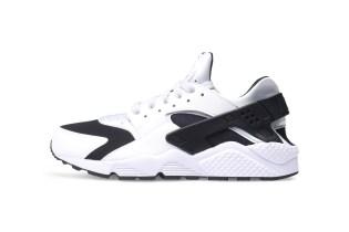 Nike Drops a Clean Black & White Air Huarache