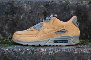 "An In-Depth Look at the Nike Air Max 90 Winter Premium In ""Light Bronze"""
