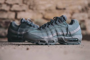 """Nike Covers the Air Max 95 In """"Cool Grey"""""""