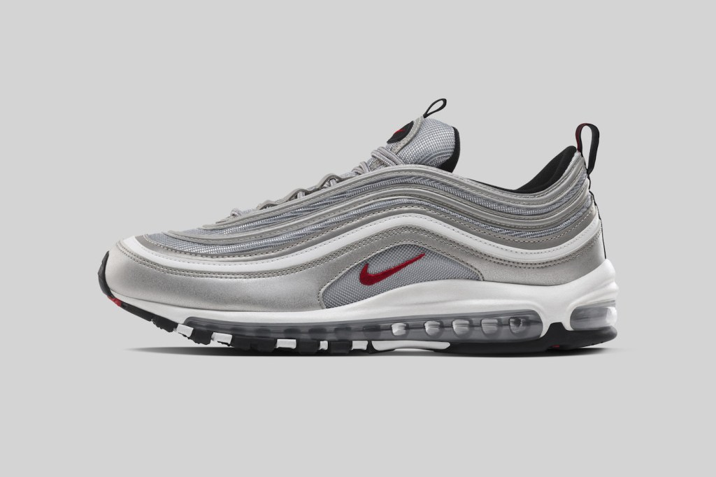 nike air max 97 silver bullet sneaker restock hypebeast. Black Bedroom Furniture Sets. Home Design Ideas