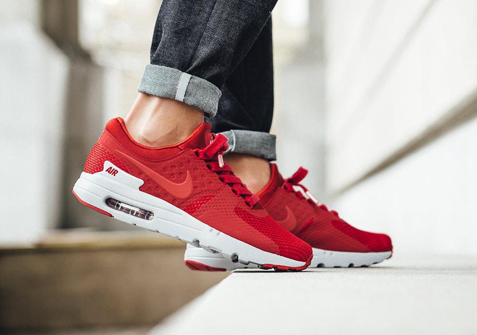 "Nike Air Max Zero PRM ""Gym Red"""
