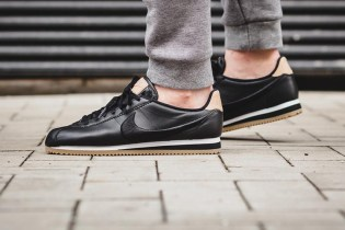 Nike Gives the Classic Cortez a Premium Black & Gum Treatment