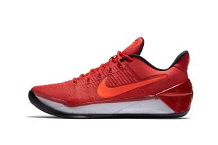 """The Nike Kobe A.D. Continues the Black Mamba's Legacy In """"University Red"""""""
