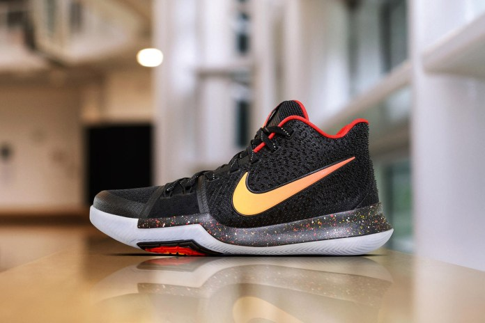 "Special Nike Kyrie 3 PEs Help ""Uncle Drew"" Stand out on the NBA Hardwood"