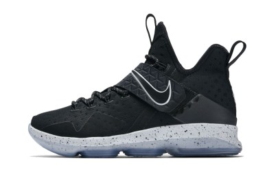 """Official Images of the Nike LeBron 14 """"Black Ice"""" Surface"""