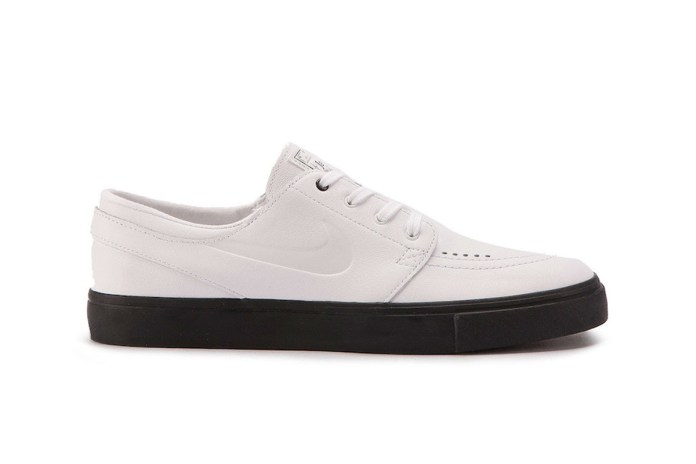 The New Nike SB Stefan Janoski Opts for a Luxe White Leather Upper