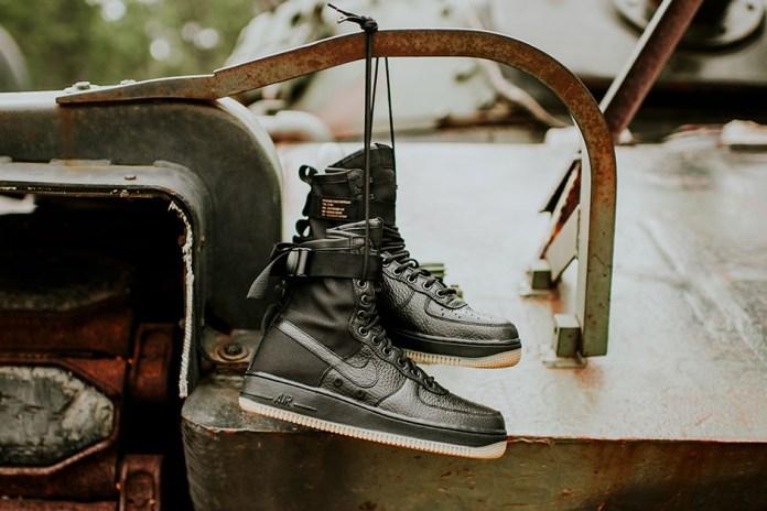 Nike's Modified SF-AF1 Drops in Black & Gum Next Week