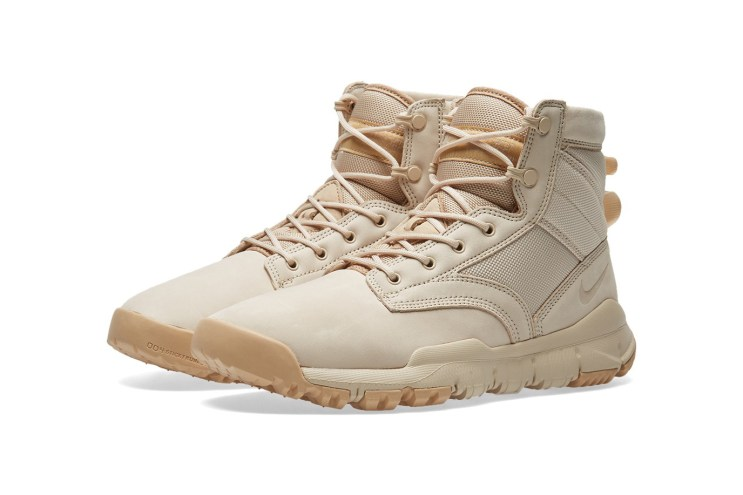"Nike's Six-Inch SFB Leather NSW Is Back In ""Oatmeal & Linen"""