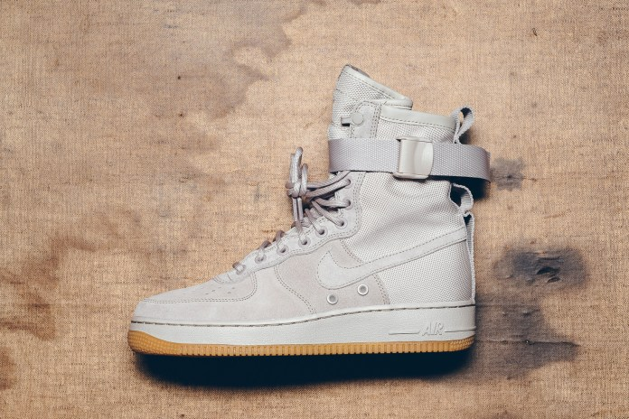 "A Closer Look at the Nike Special Field Air Force 1 ""String"""
