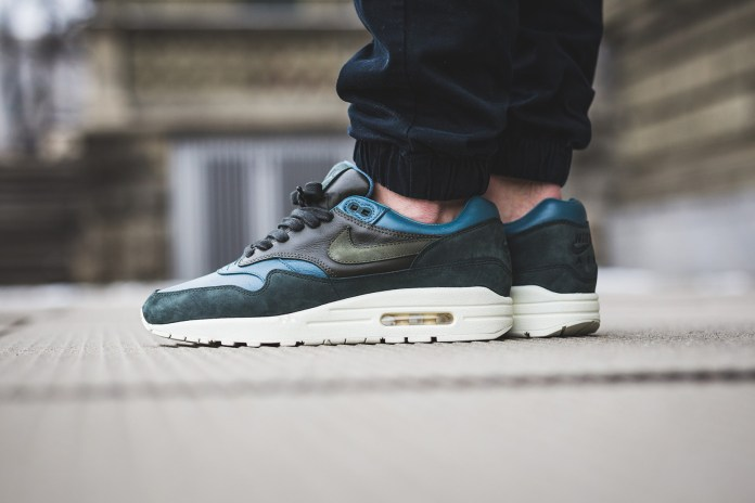 """NikeLab Adds An """"Iced Jade"""" Air Max 1 to Its Pinnacle Collection"""