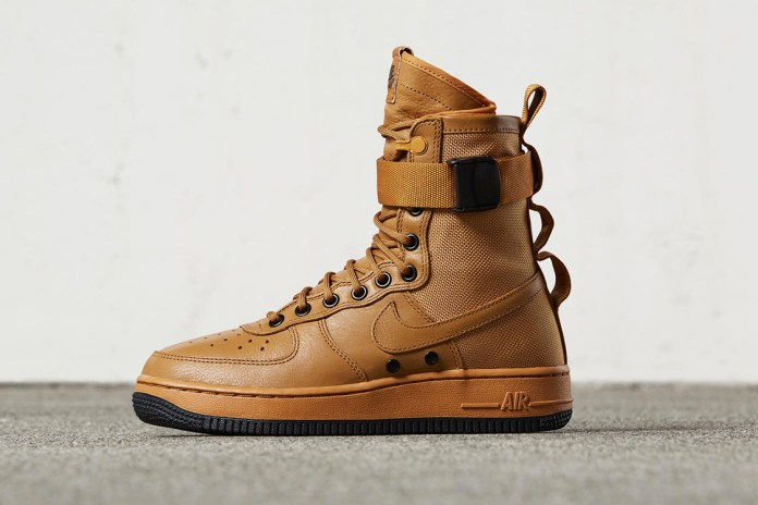 "Nike's SF-AF1 is Unleashed in ""Desert Ochre"""