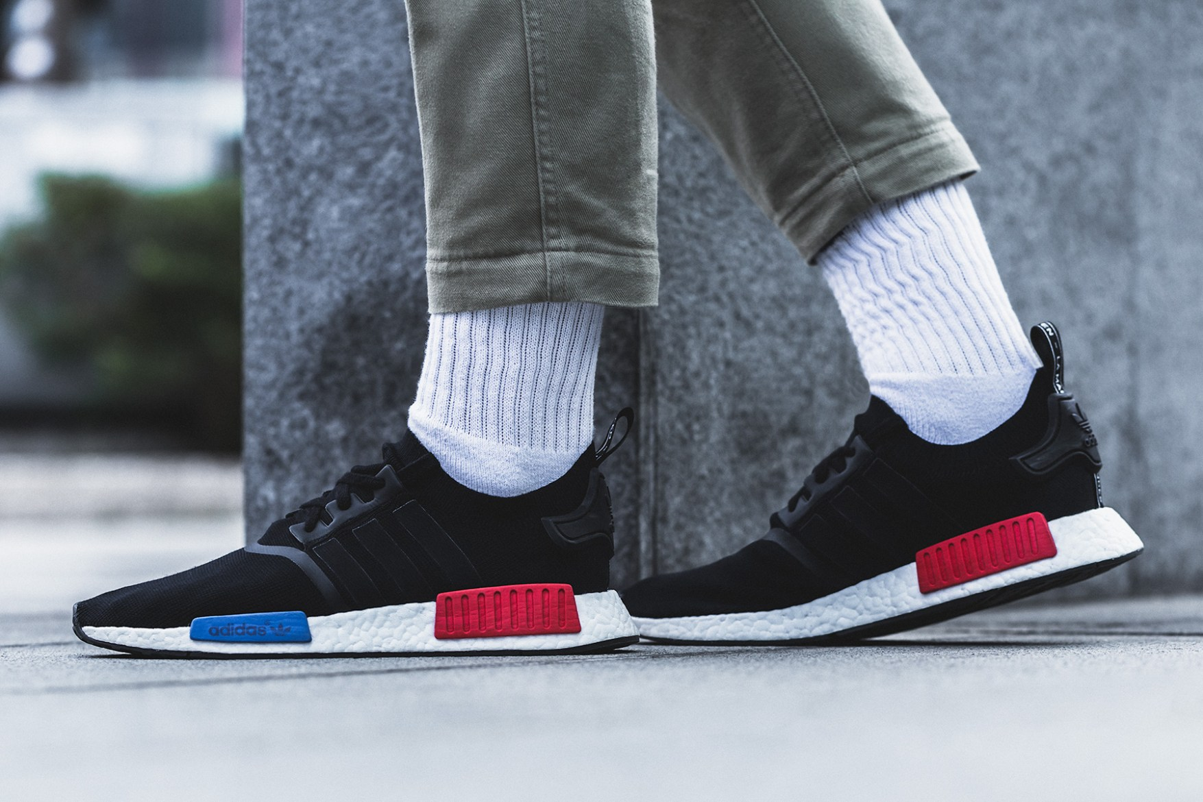 adidas giveaway adidas originals nmd og black red blue raffle and giveaway 2081