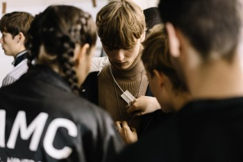 Here's a Backstage Look at the OAMC 2017 Fall/Winter Show