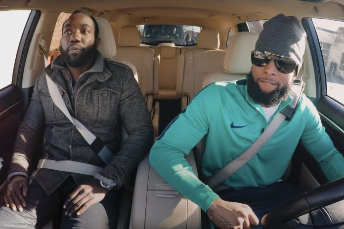 Odell Beckham Jr. Goes Undercover as a Lyft Driver