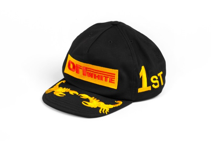 OFF-WHITE Releases a Selection of Racing-Inspired Caps