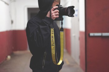 Check out This Custom OFF-WHITE c/o VIRGIL ABLOH Industrial Camera Strap