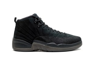 "The OVO x Air Jordan 12 ""Black"" Has Received the Perfect Release Date"
