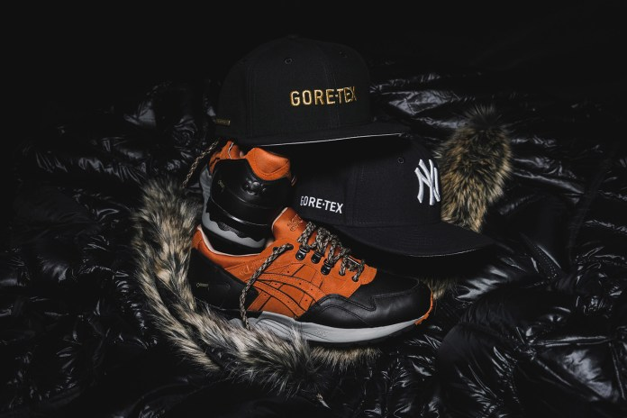 Inclement Weather Is No Match for the Upcoming Collaboration From Packer Shoes, ASICS Tiger & New Era