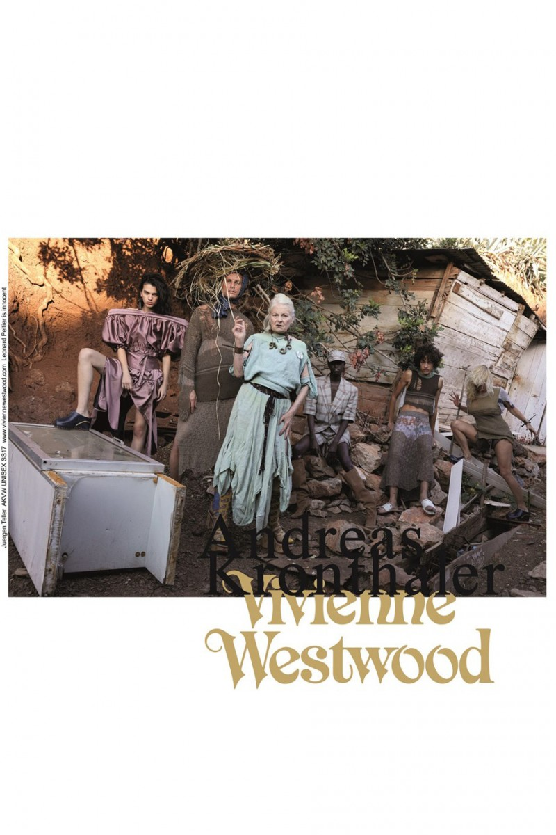 Pamela Anderson Vivienne Westwood 2017 Spring/Summer Campaign - 3702805