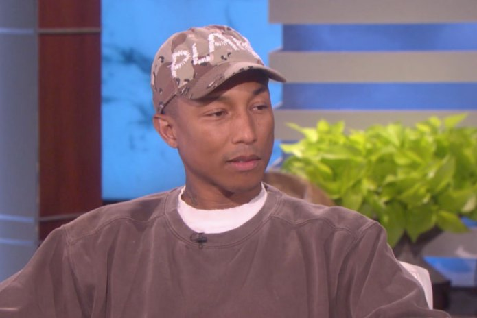 Pharrell Gets Deep and Meaningful During His 'Ellen' Appearance