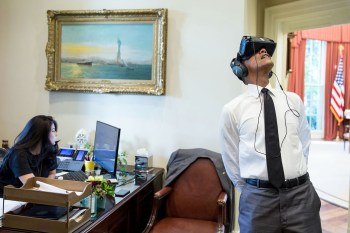 President Barack Obama Gives Us a Virtual Reality Tour of The White House