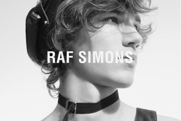 Raf Simons Debuts 2017 Spring/Summer Campaign