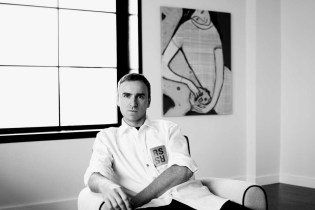 Raf Simons Pre-NYFW Debut Interview Sheds Light on Young Designers, Trump and Tom Ford's Movie