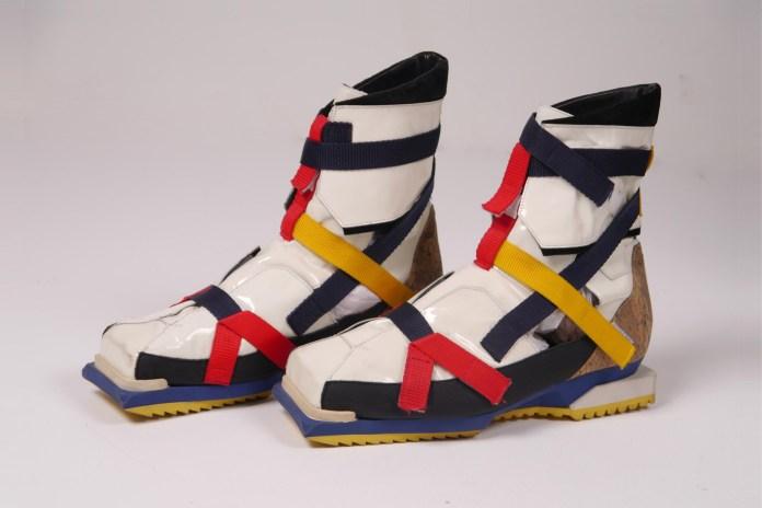 Super Rare Raf Simons 'De Stijl' Hiking Boot Is Available Now