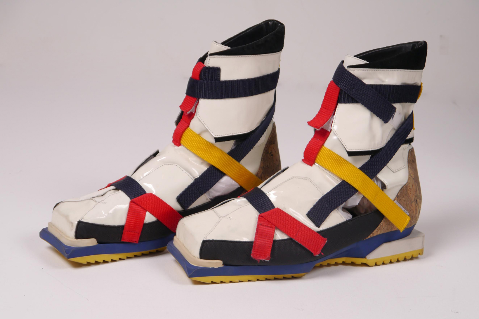 Rare Raf Simons 'De Stijl' Hiking Boot