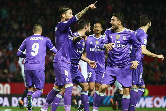 Real Madrid Set New Spanish Record by Going 40 Games Unbeaten