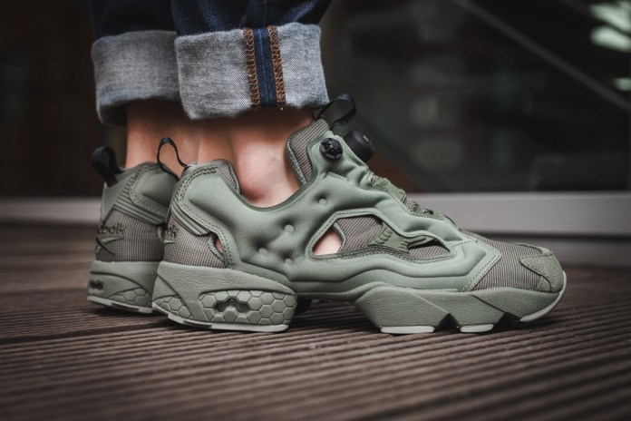 "Reebok's Latest Instapump Fury Gets A ""Hunter Green"" Treatment"