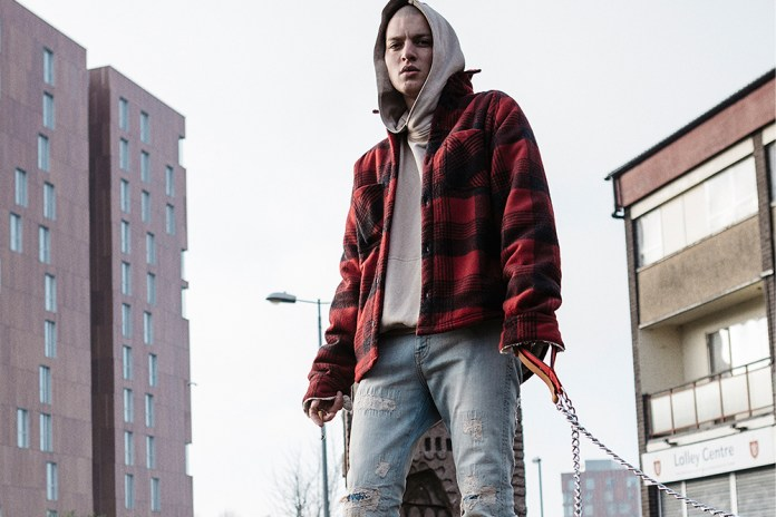 Represent Channels '90s Working-Class Britain in Its 2017 Spring/Summer Collection