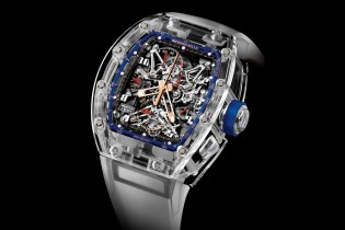 "Richard Mille Releases a Blue Quartz TPT ""Jean Todt Tribute"" Watch Collection"