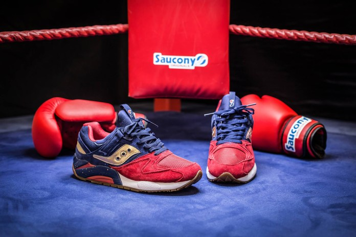Saucony's Grid 9000 Receives Inspiration From Sparring