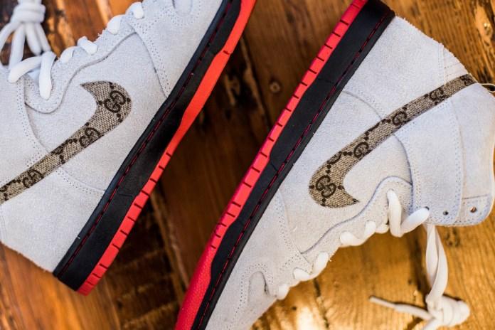 The Shoe Surgeon Gives the Black Sheep Skate Shop Nike SB the Custom Treatment